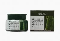 Крем для лица Farmstay  Visible Difference Fresh Cream Aloe объем 100 г