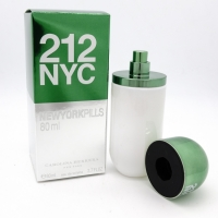 CH 212 NYC NEWYORK PILLS GREEN FOR MEN EDT 80ml