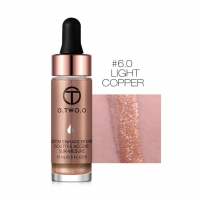 ХАЙЛАЙТЕР O.TWO.O CUSTOM ENHANCE DROPS 15ml - LIGHT COPPER №6