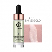 ХАЙЛАЙТЕР O.TWO.O CUSTOM ENHANCE DROPS 15ml - SHINE GOLD №3