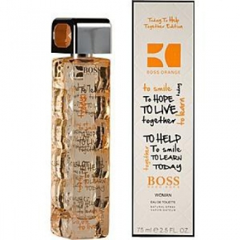 HUGO BOSS ORANGE TODAY TO HELP TOGETHER EDITION EDT 75ml