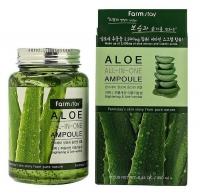 Многофункциональная ампульная сыворотка с экстрактом алое FarmStay Aloe All-In-One Ampoule, 250 мл