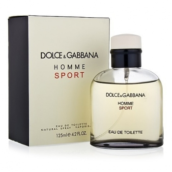 DOLCE & GABBANA HOMME SPORT FOR MEN EDT 125ml