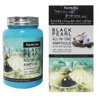 Сыворотка для лица FarmStay All-In-One Black Pearl Ampoule С экстрактом жемчуга (250 мл)