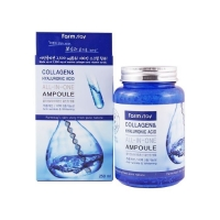 Антивозрастная сыворотка FarmStay Collagen and Hyaluronic Acid All in One Ampoule 250 мл