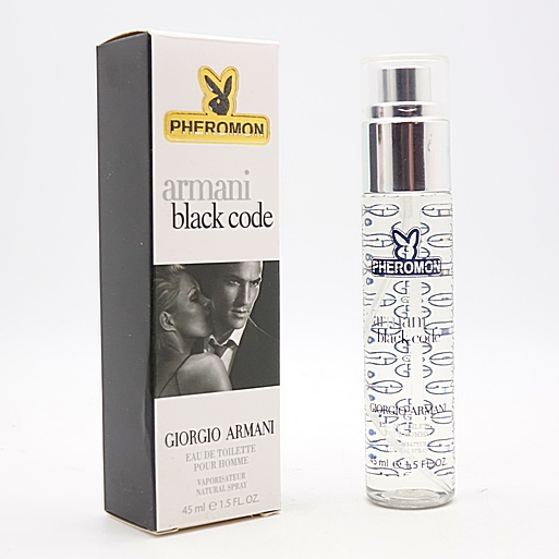 Giorgio Armani Black Code For Men Edt 45ml Pheromon купить в