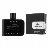 LACOSTE ESSENTIAL BLACK FOR MEN EDT 125ml