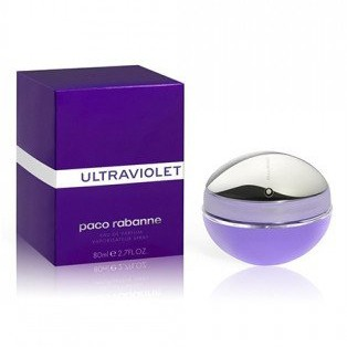 PACO RABANNE ULTRAVIOLET FOR WOMEN EDP 80ml