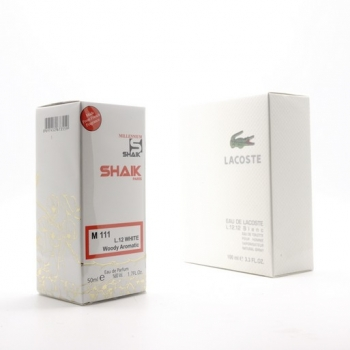 SHAIK M 111 (LACOSTE L.12.12 BLANC FOR MEN) 50ml