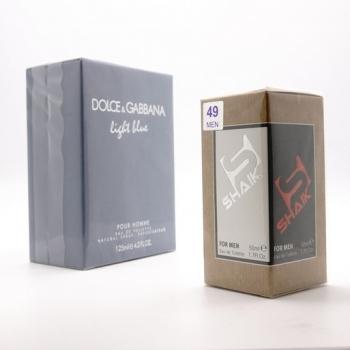 SHAIK M 49 (D&G LIGHT BLUE FOR MEN) 50ml