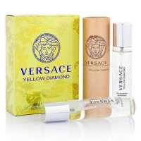 VERSACE YELLOW DIAMOND FOR WOMEN EDT 3x20ml