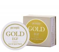 Патчи для век Petitfee Gold And EGF Eye Spot Patch, 60 шт