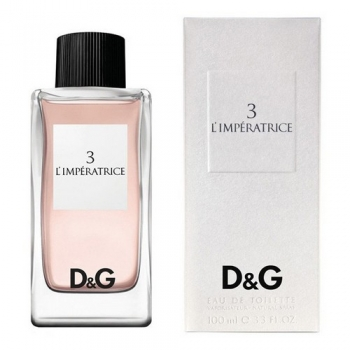 DOLCE & GABBANA 3 L'IMPERATRICE FOR WOMEN EDT 100ml